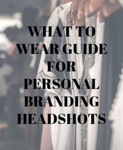 What to wear guide for headshots in Portland